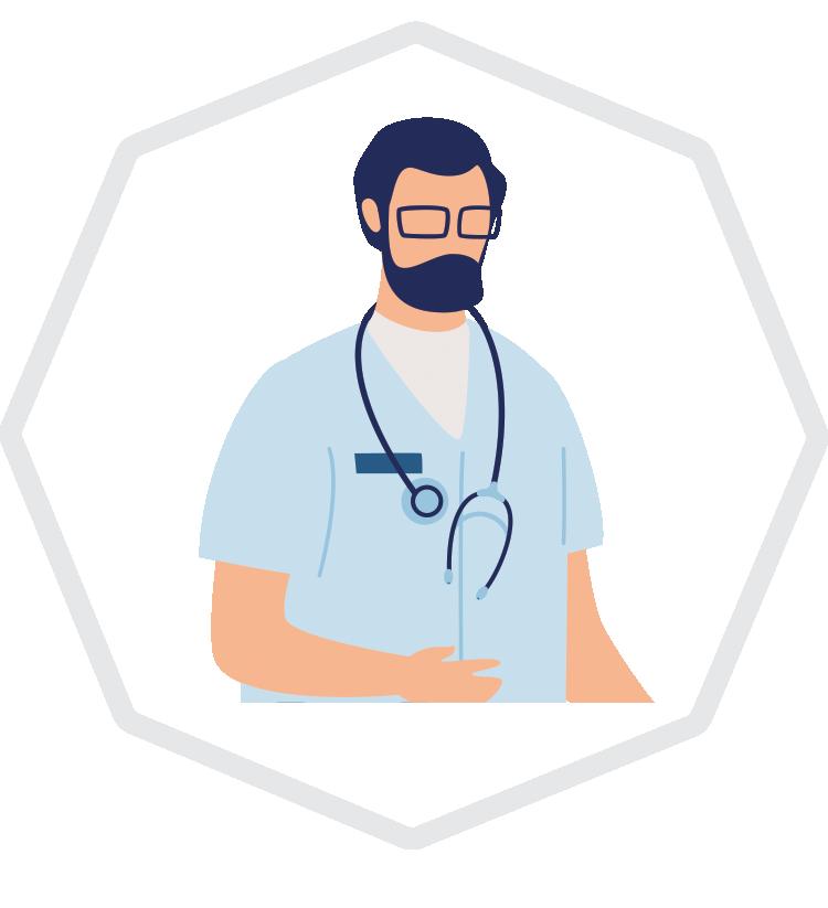 Octiva Doctor Illustration